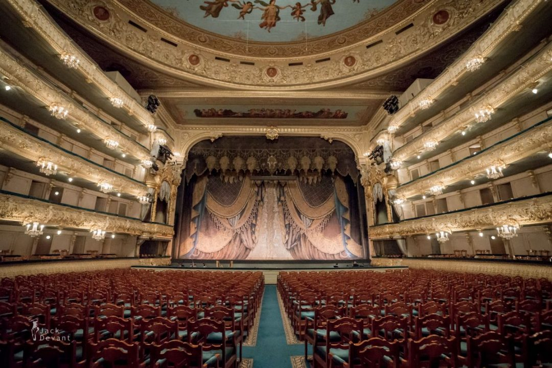 Mariinsky Theatre hitoric stage