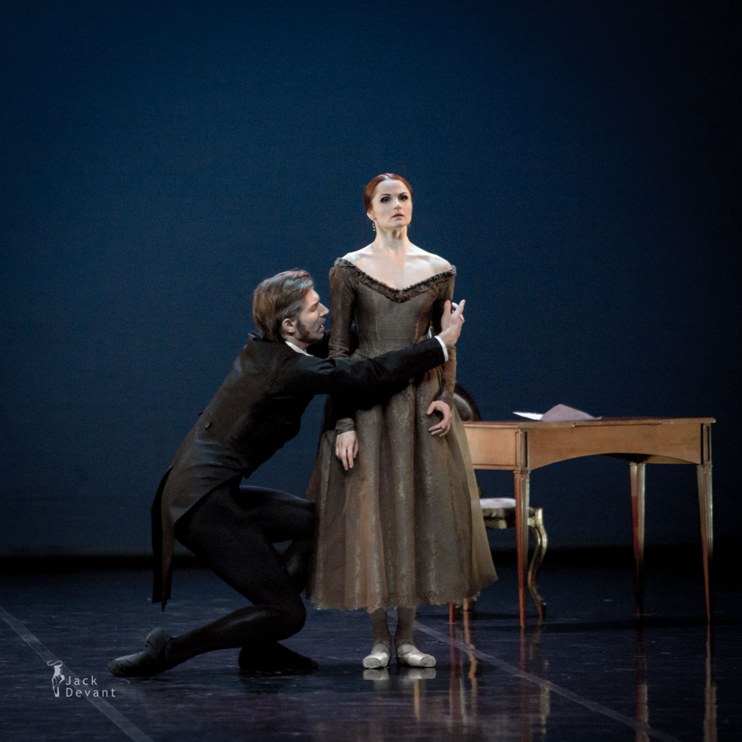 Alena Shkatula and Denis Klimuk in Onegin