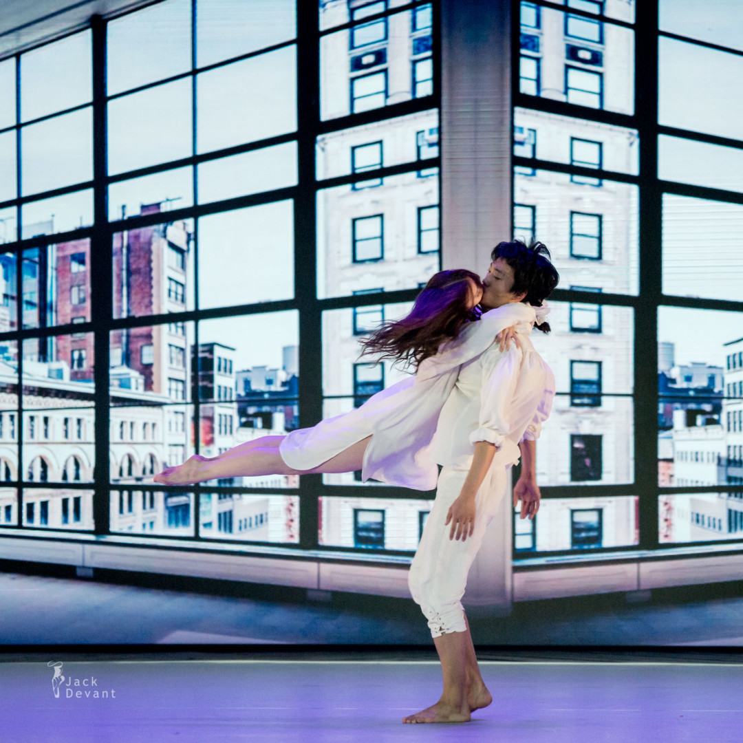 Renata Shakirova and Kimin Kim in Le Parc