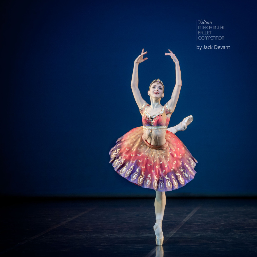 Elena Sharipova in La Bayadère Variation - TIBC 2016