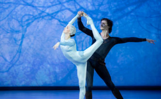 Irina Perren and Marat Shemiunov in the Ice Maiden