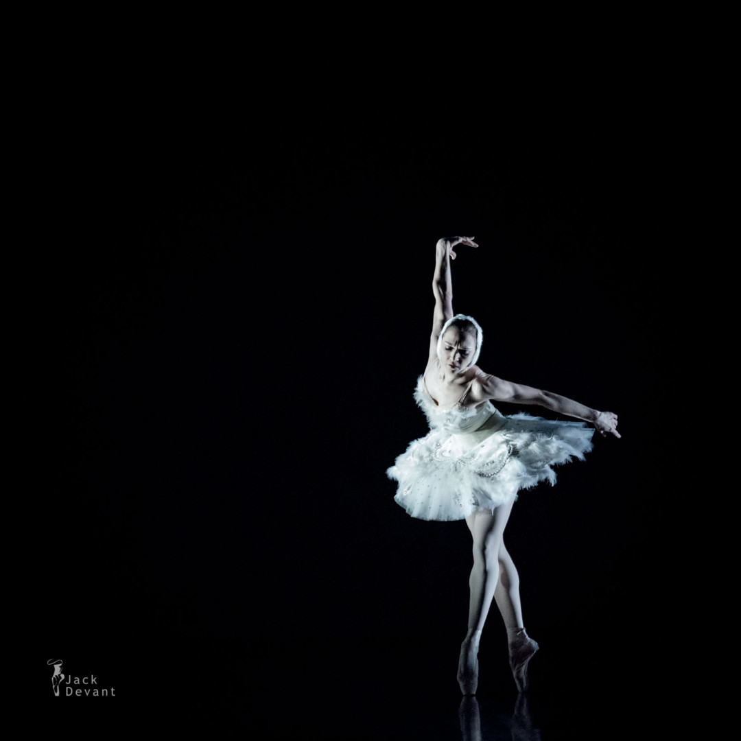 Olena Filipieva in The Dying Swan