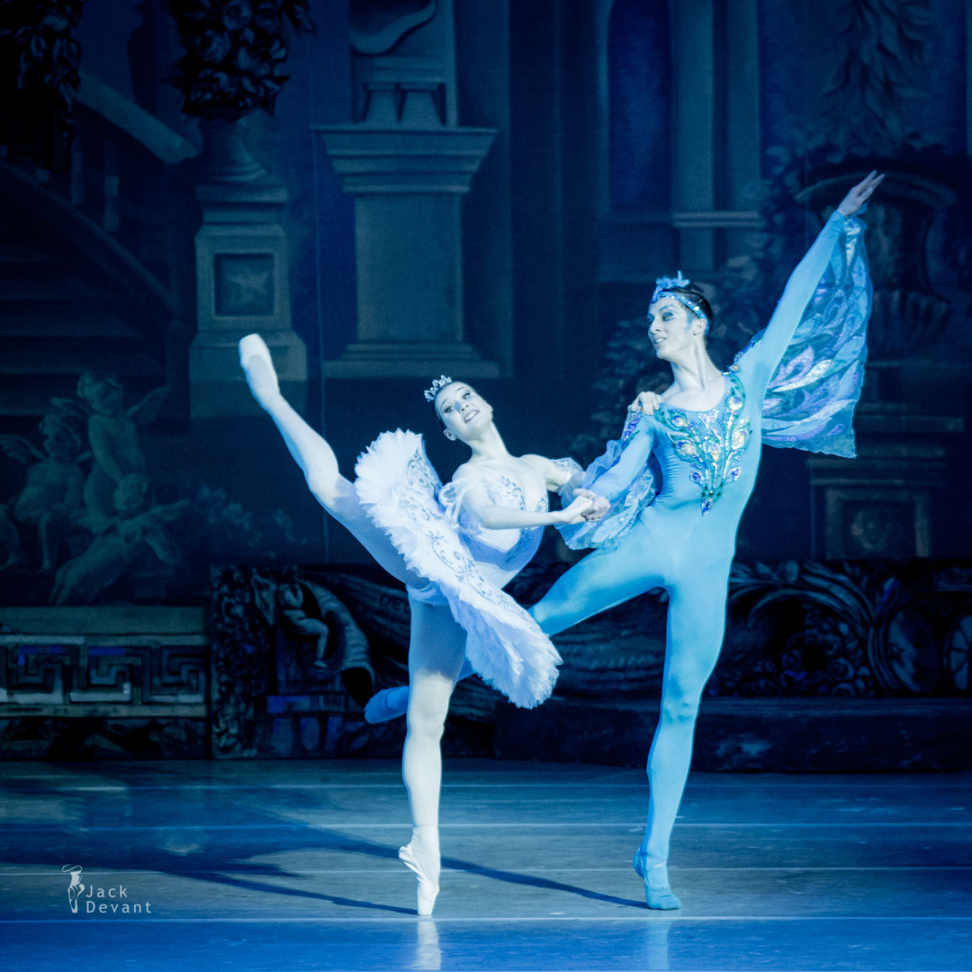 Olesya Shaitanova and Oleg Ligai in Blue Bird PDD