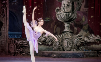 Olga Skripchenko as Lilac Fairy in The Sleeping Beauty