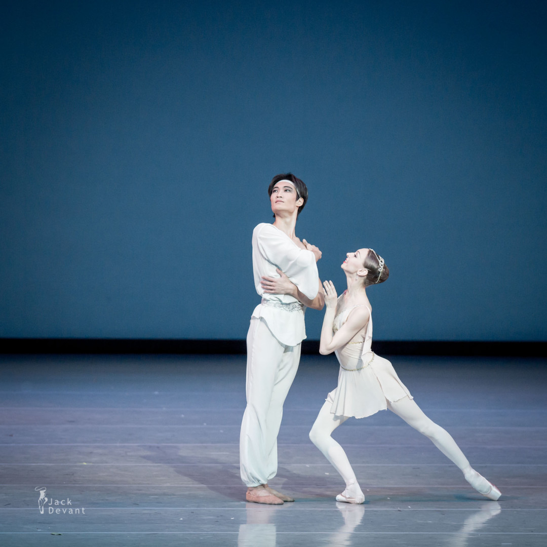 The Talisman pas de deux by Yekaterina Osmolkina (Rus. Yekaterina Osmolkina) and Kimin Kim