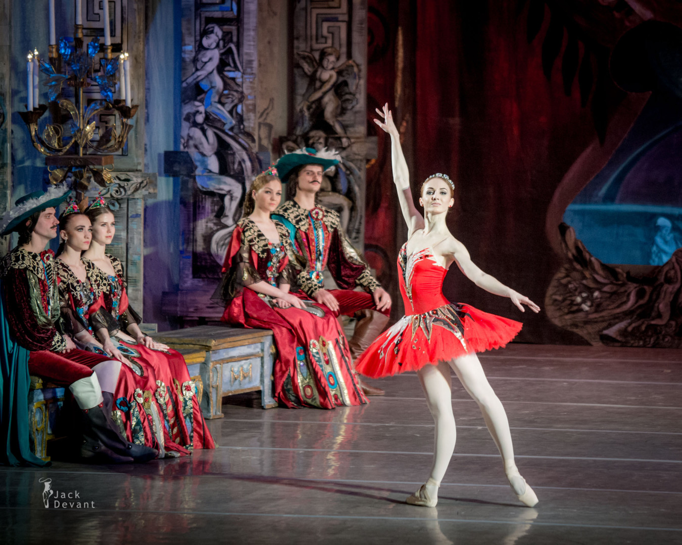 Yulia Kulik as Fairy of Boldness in The Sleeping Beauty