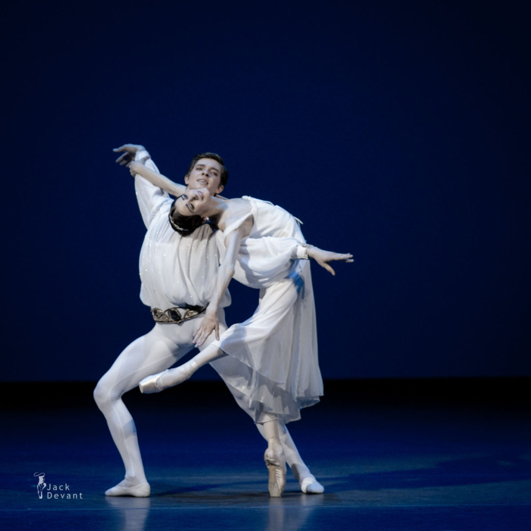 Anastasia Soboleva and Victor Lebedev in Romeo and Juliet