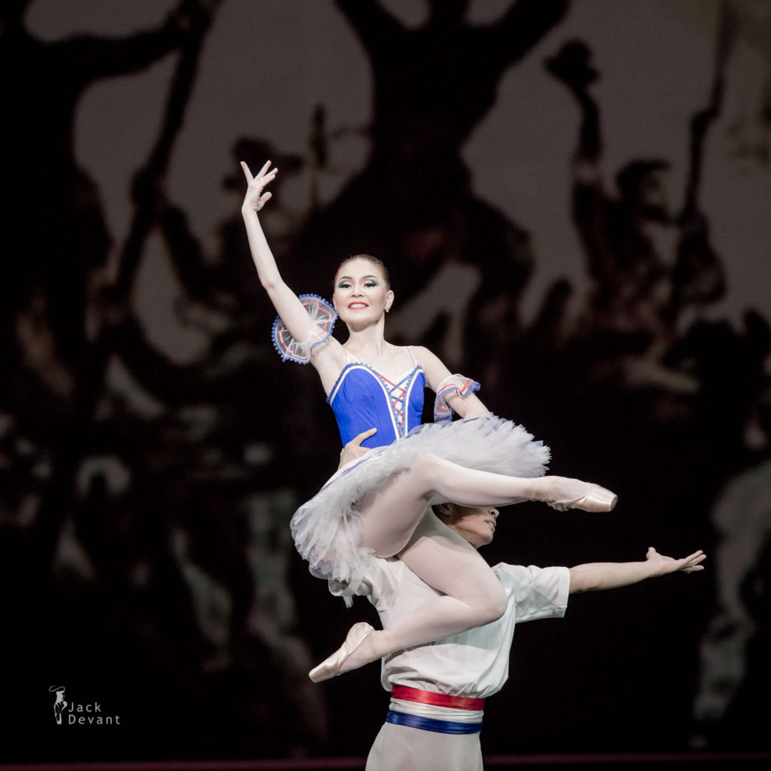 Assel Kusainova and Serik Nakyspekov in Flames of Paris