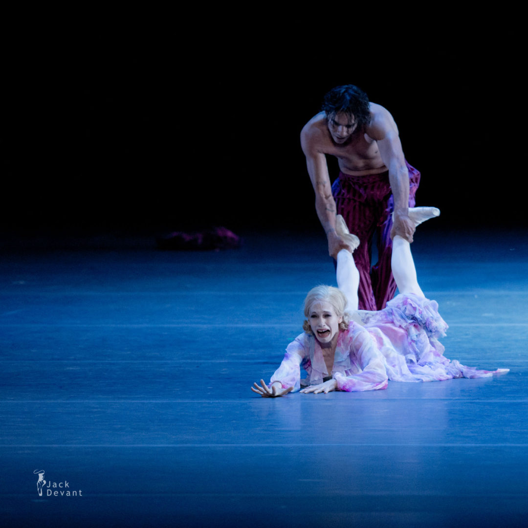 Alicia Amatriain and Jason Rielly in the Streetcar Named Desire, music by Alfred Schnittke, choreography by John Neumeier