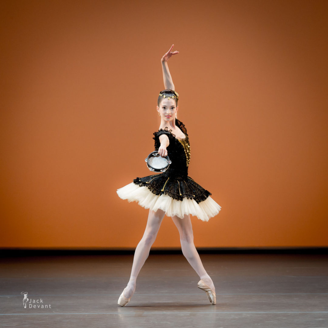 Hannah O'Neill in Esmeralda pas de deux, music by Cesare Pugni, choreography by Nikolay Berezov after Jules Perrot