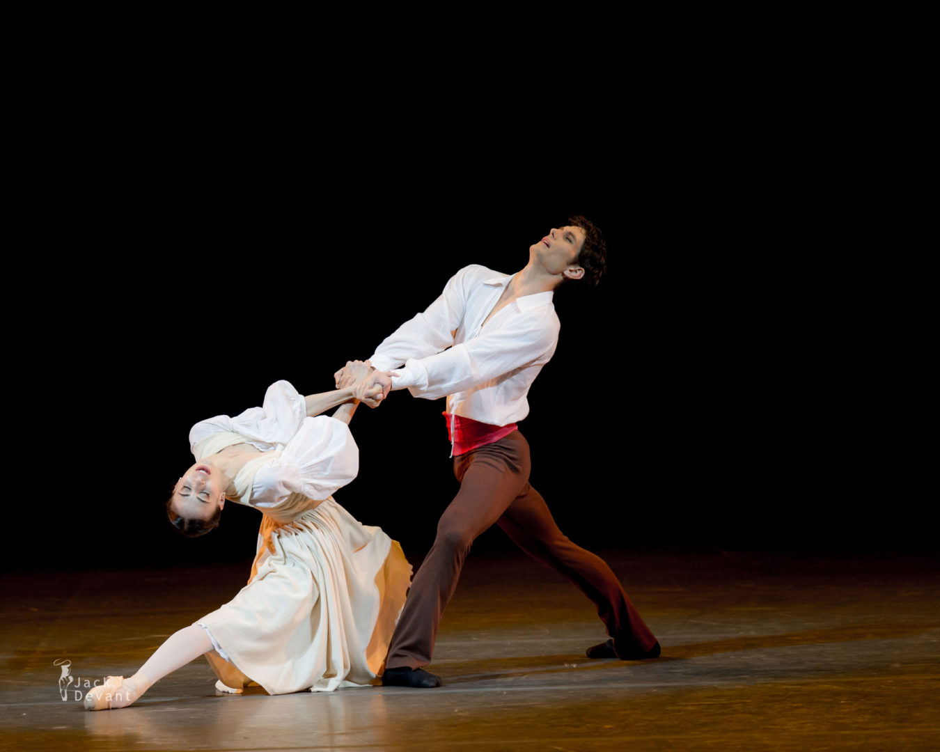 Benois de la Danse Rebecca Bianchi and Alessandro Riga in L'Arlésienne duet, music by Georges Bizet, choreography by Roland Petit