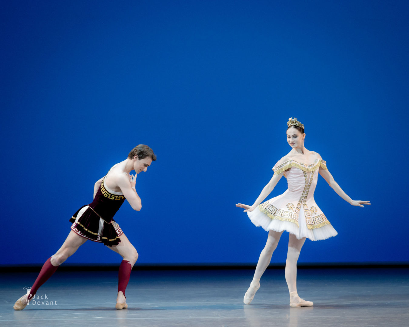 Oksana Skorik (Rus. Оксана Скорик) and Philipp Stepin (Rus. Филипп Стёпин) in Sylvia, music by Léo Delibes, choreography by Frederick Ashton