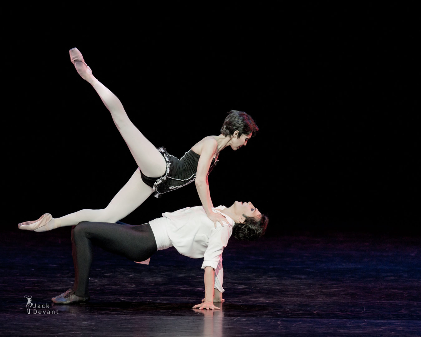 Gaukhar Usina and Rustem Seitbekov in Carmen pdd