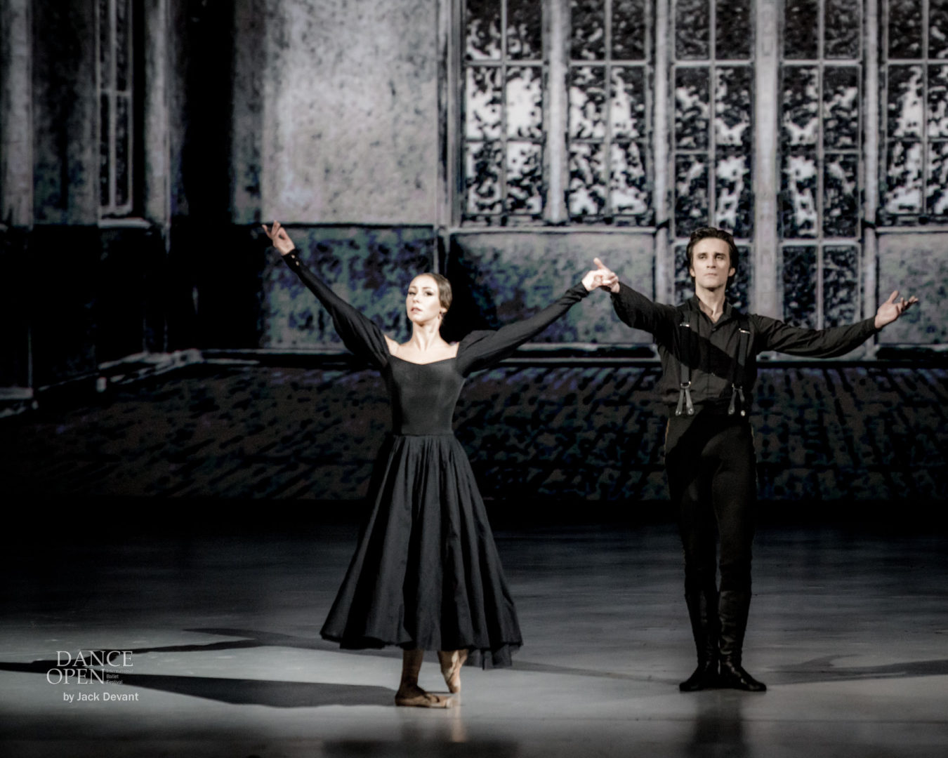 Kristina Kretova and Ruslan Skvortsov in A Hero of Our Time