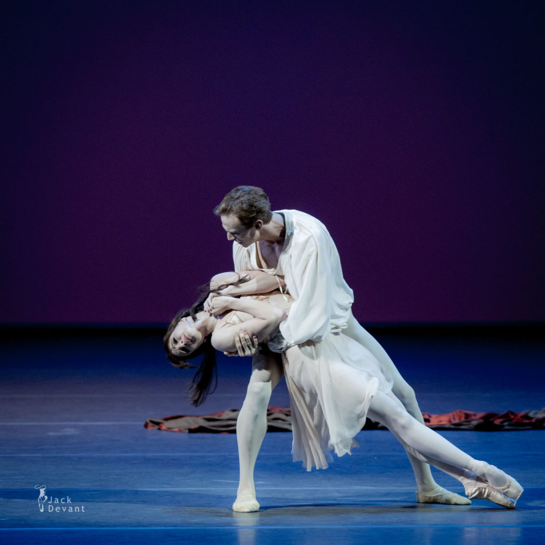 Lauren Cuthbertson and Edward Watson in Romeo and Juliet