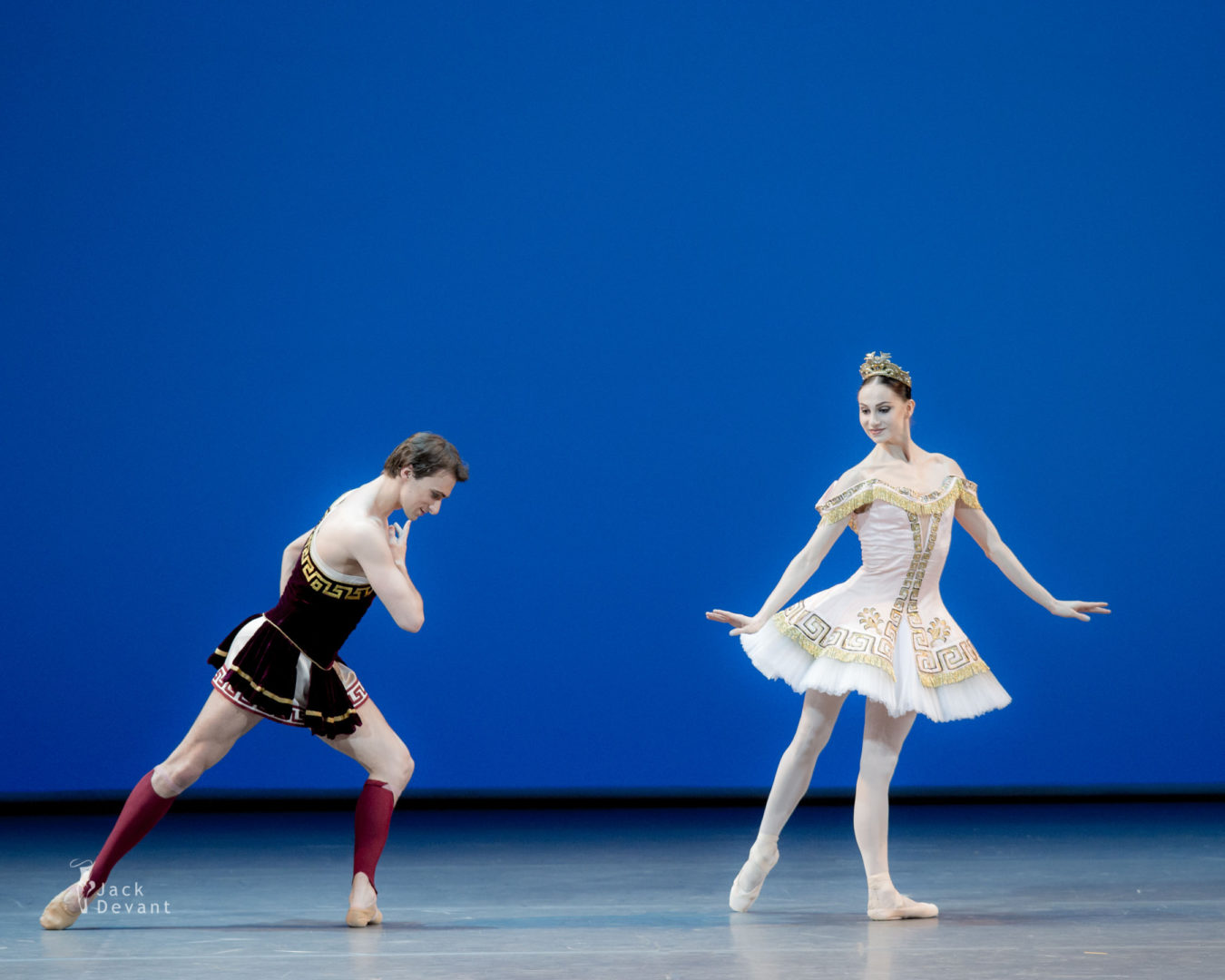 Oksana Skorik and Philipp Stepin in Sylvia