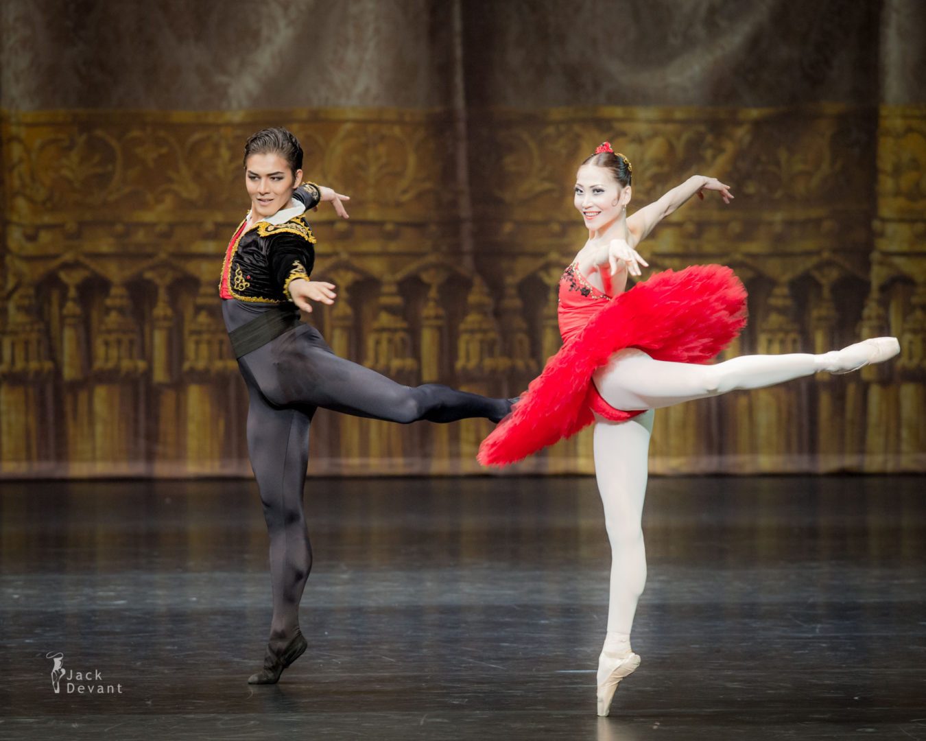 Anel Rustemova Анель Рустемова and Bakhtiyar Adamzhan in Don Quixote