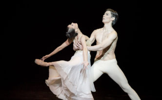 Madina Basbaeva and Zhandos Aubakirov in Thais from Ma Pavlova