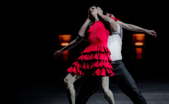 Emilia Gisladottir and Daan Vervoort in the duet from Carmen