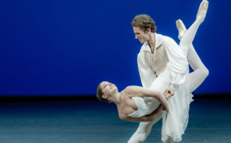Emily Slawski and Dmitry Zagrebin in Tchaikovsky PDD