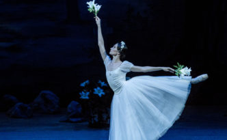 Giselle in The Novosibirsk Opera and Ballet Theatre