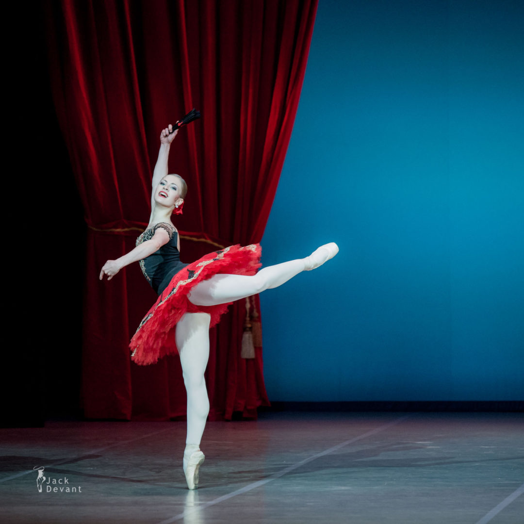 Marita Weinrank in Don Quixote grand pdd