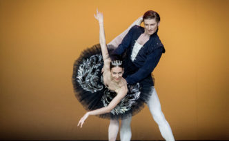 Marjana Fazullina and Denis Klimuk in Swan Lake pdd