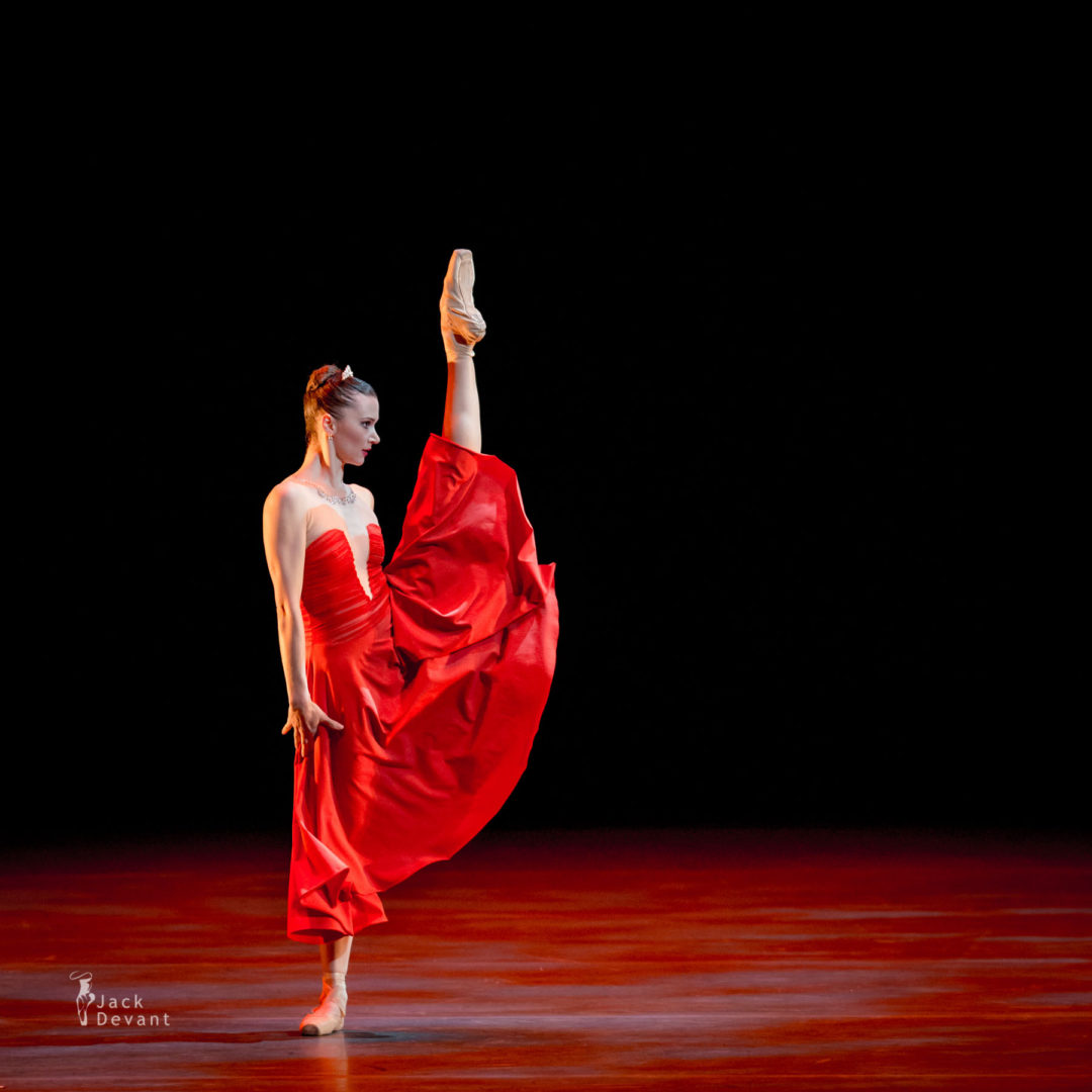 Katerina Shalkina and Julien Favreau in Duet from Hamlet (D.Ellington)
