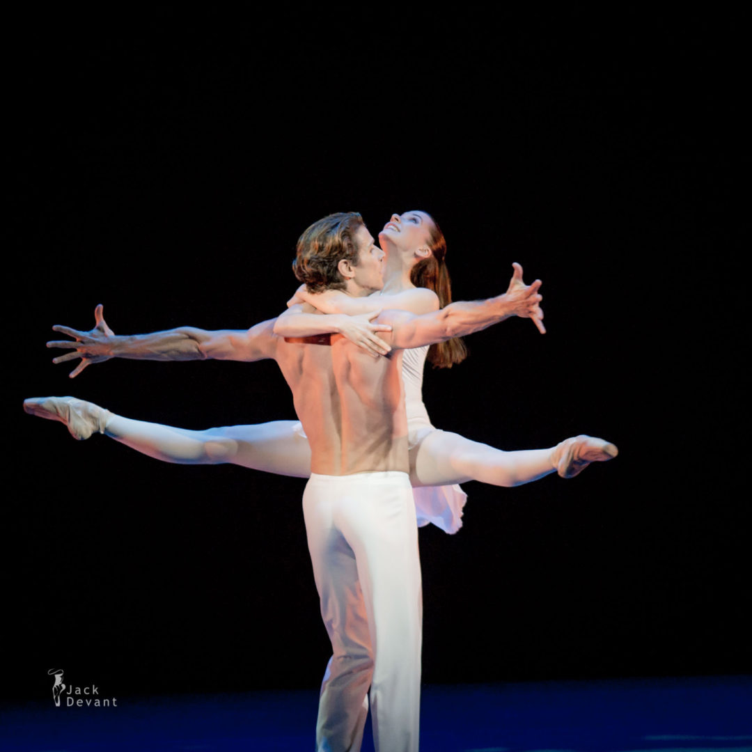 Katerina Shalkina and Julien Favreau in Romeo and Juliet