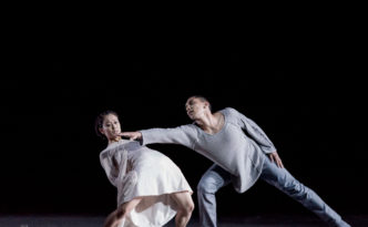 Mariko Kida and Anthony Lomuljo in Juliet and Romeo
