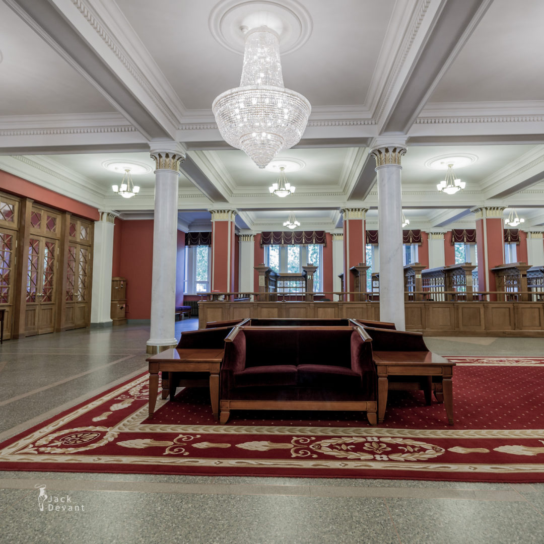 Novosibirsk Theatre Foyer and wardrobe