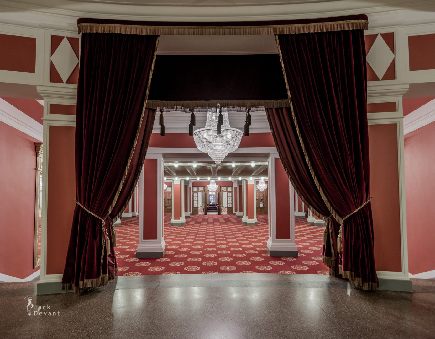 Novosibirsk Theatre Entrance Hall