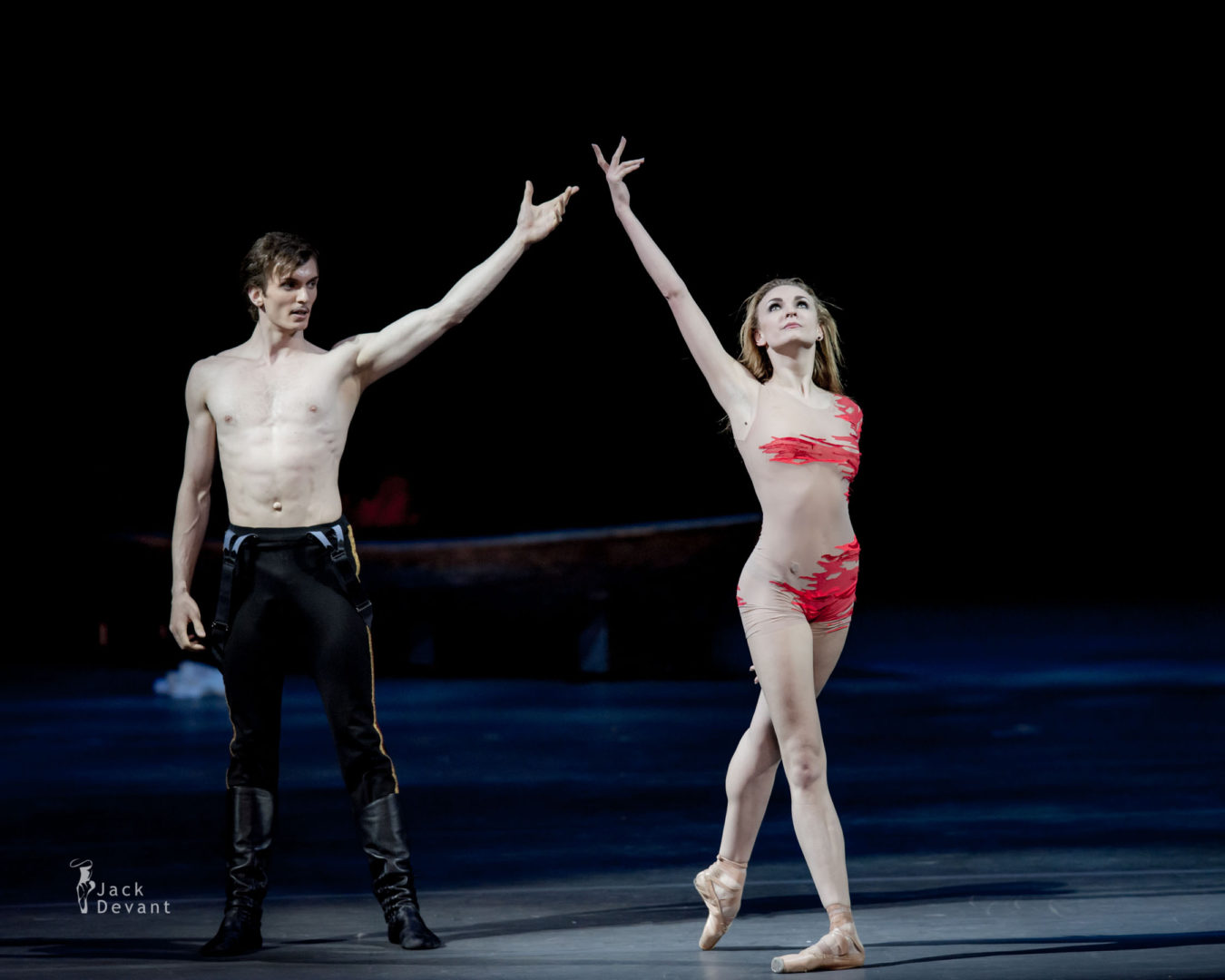 Olga Marchenkova and Artemy Belyakov in the Hero of Our Time