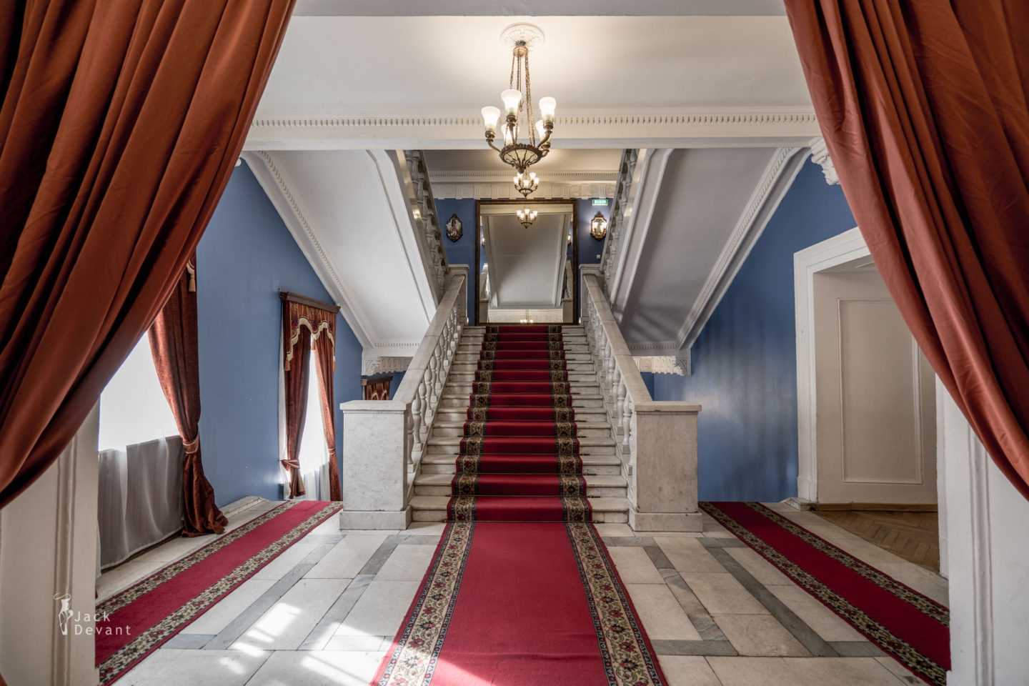 Perm Opera Theatre Stairs to Dress Circle