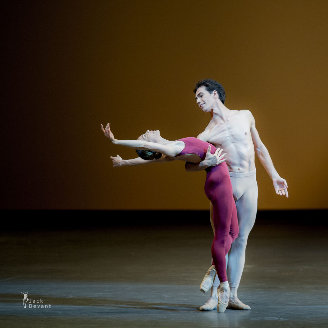 Silvia Azzoni and Alexandre Riabko in the Third Symphony