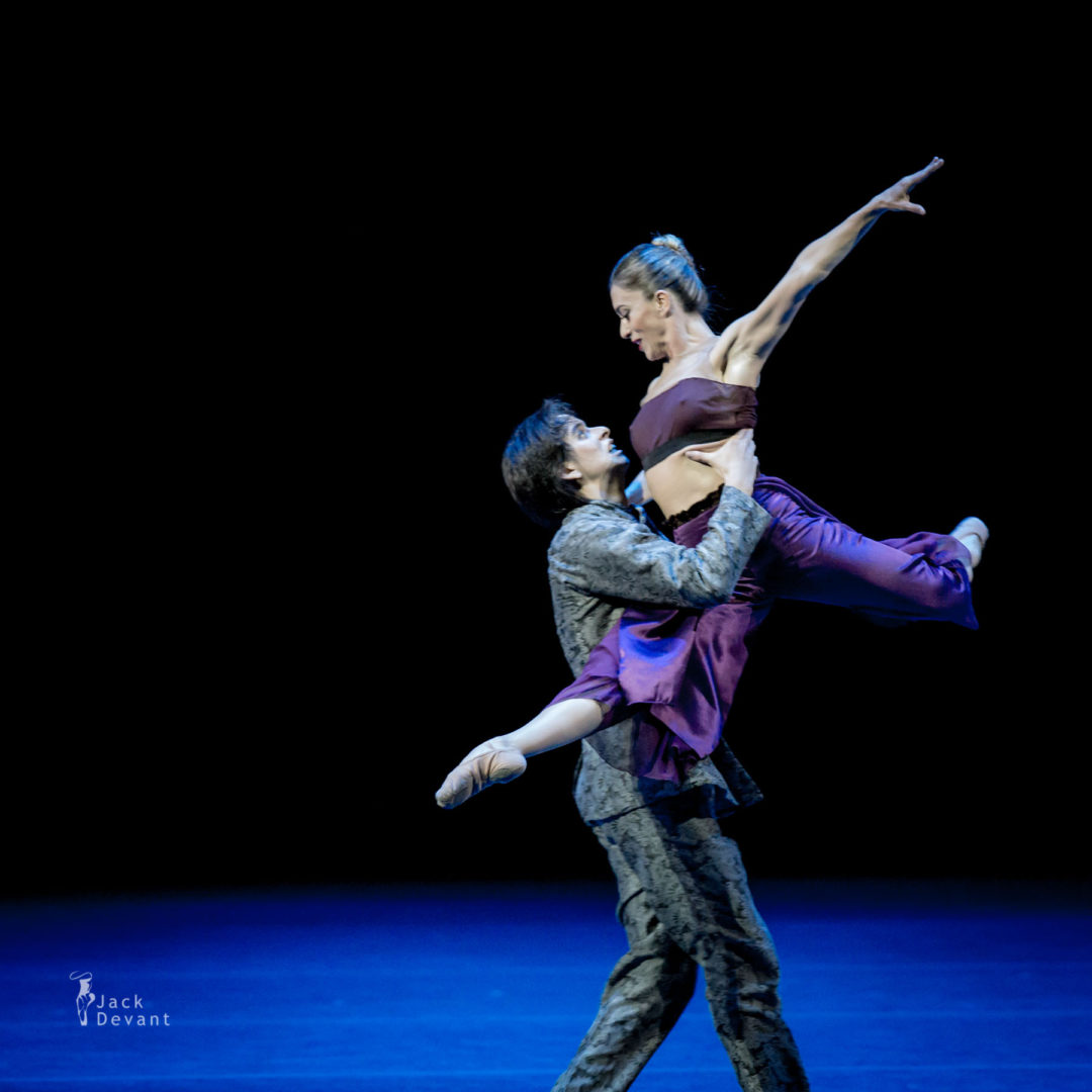 Sol Rourich and Ruben Rodriguez in Tempest.