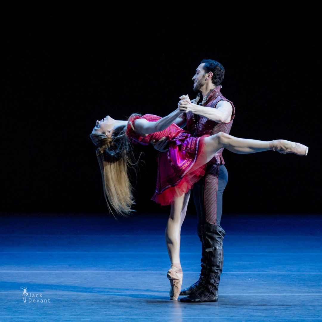 Virna Toppi and Christian Fagetti in duet from Cinderella