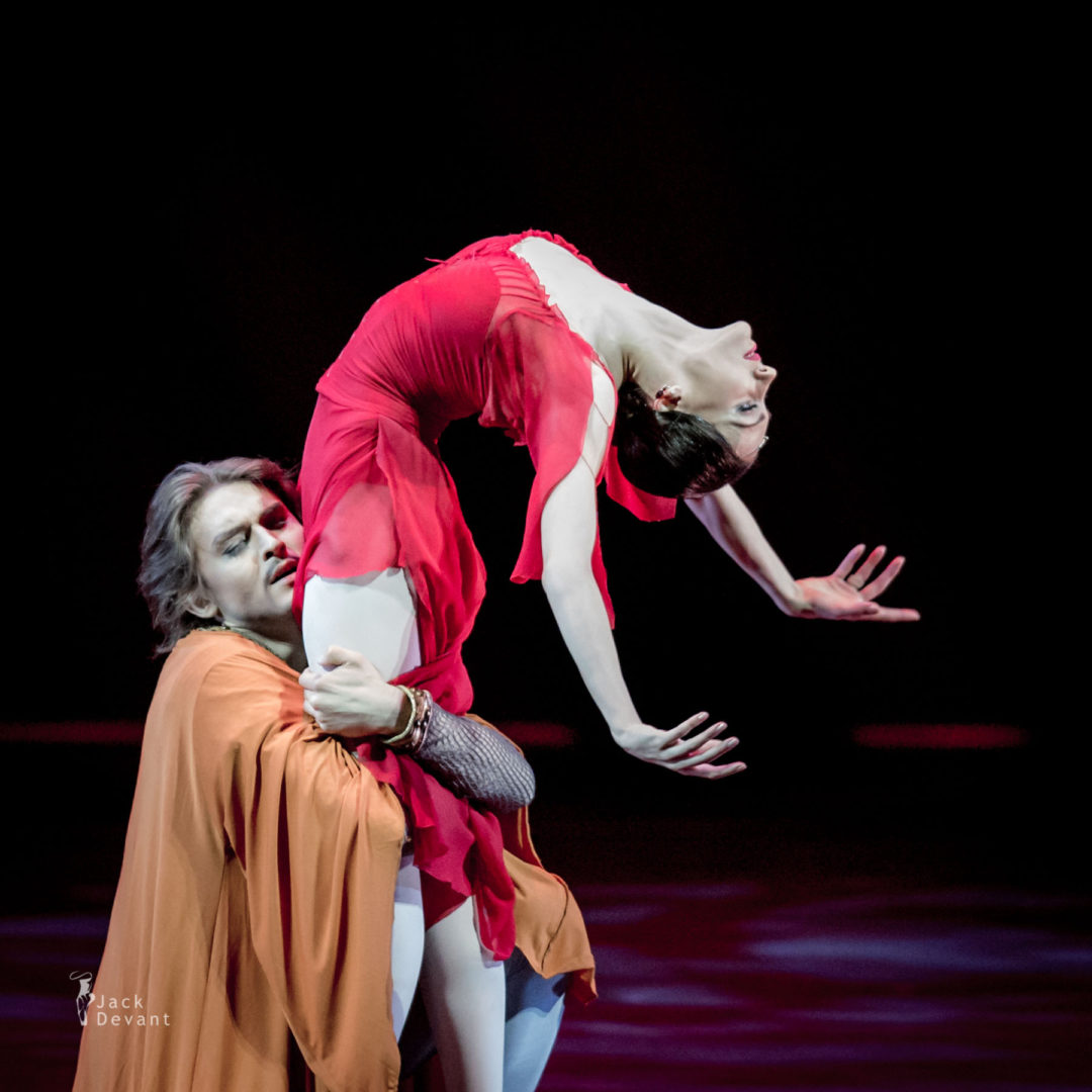 Yulia Stepanova (rus. Юлия Степанова) and Denis Rodkin (Rus. Денис Родькин) in Macbeth
