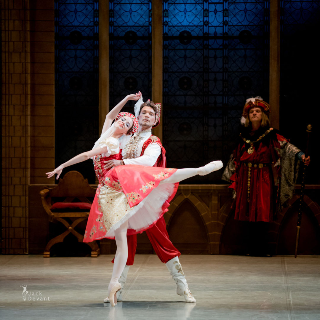 Daria Tikhonova and Ivan Poroshin in Russian Dance