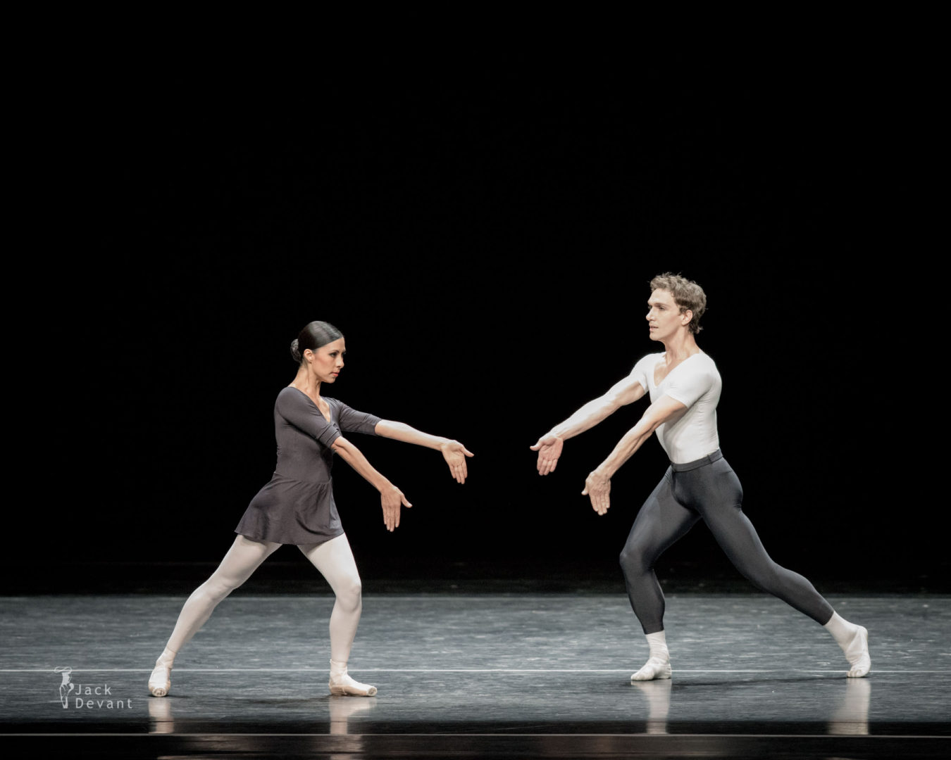 Elisa Carrillo Cabrera and Mikhail Kaniskin in Ballet 102