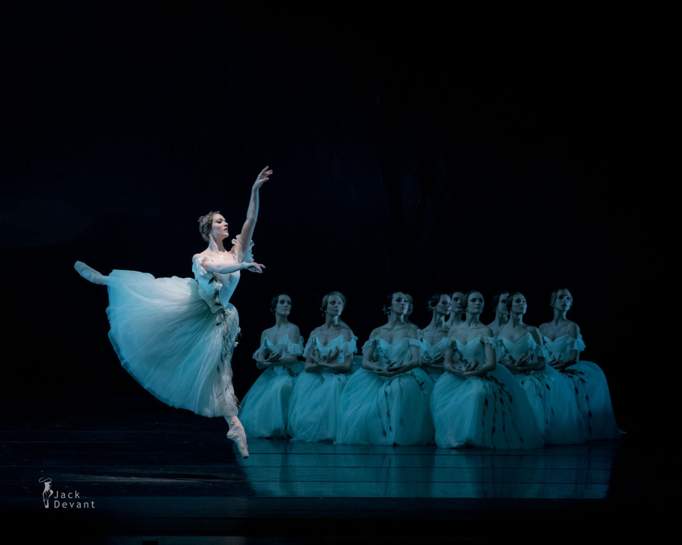 Myrtha, Prisca Zeisel in Giselle