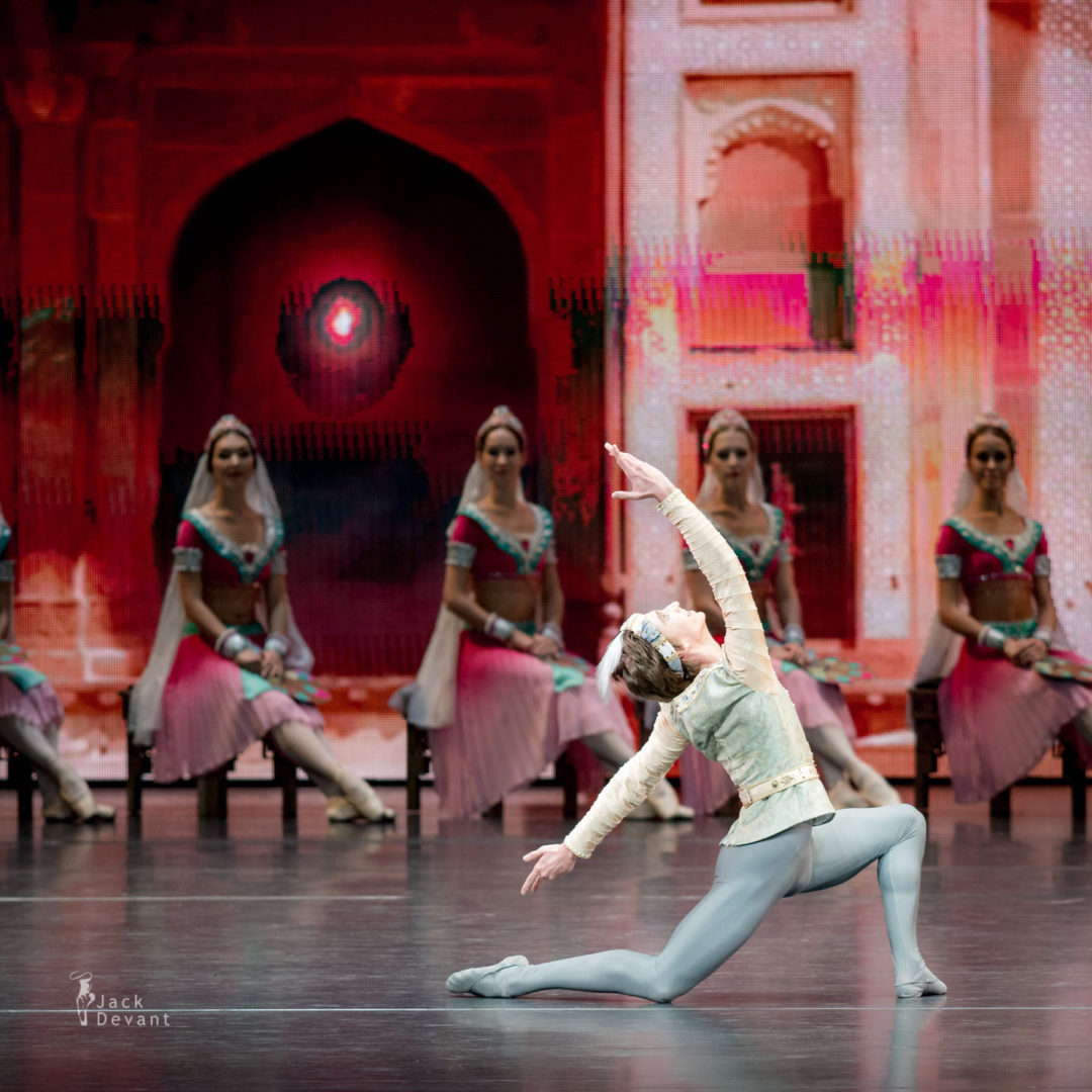 Vadim Muntagirov soloists of the Kremlin Ballet in La Bayadere