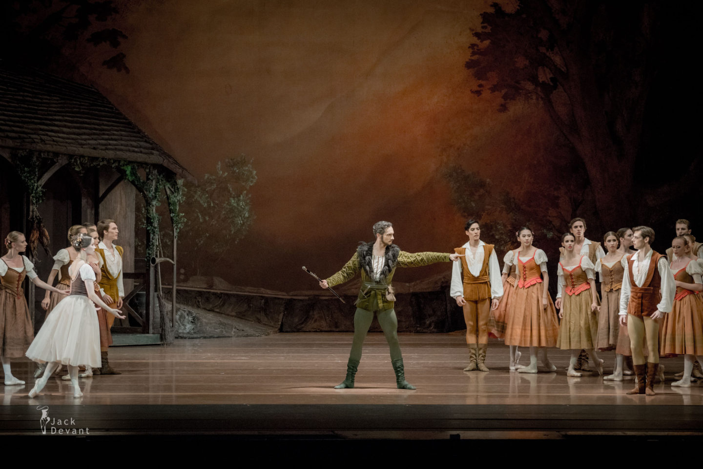 Maria Shirinkina and Vladimir Shklyarov Hilarion, Matej Urban in Giselle