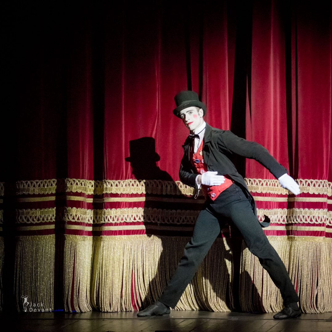 Valerio Polverari as Drosselmeier in The Nutcracker (Schiaccianoci)