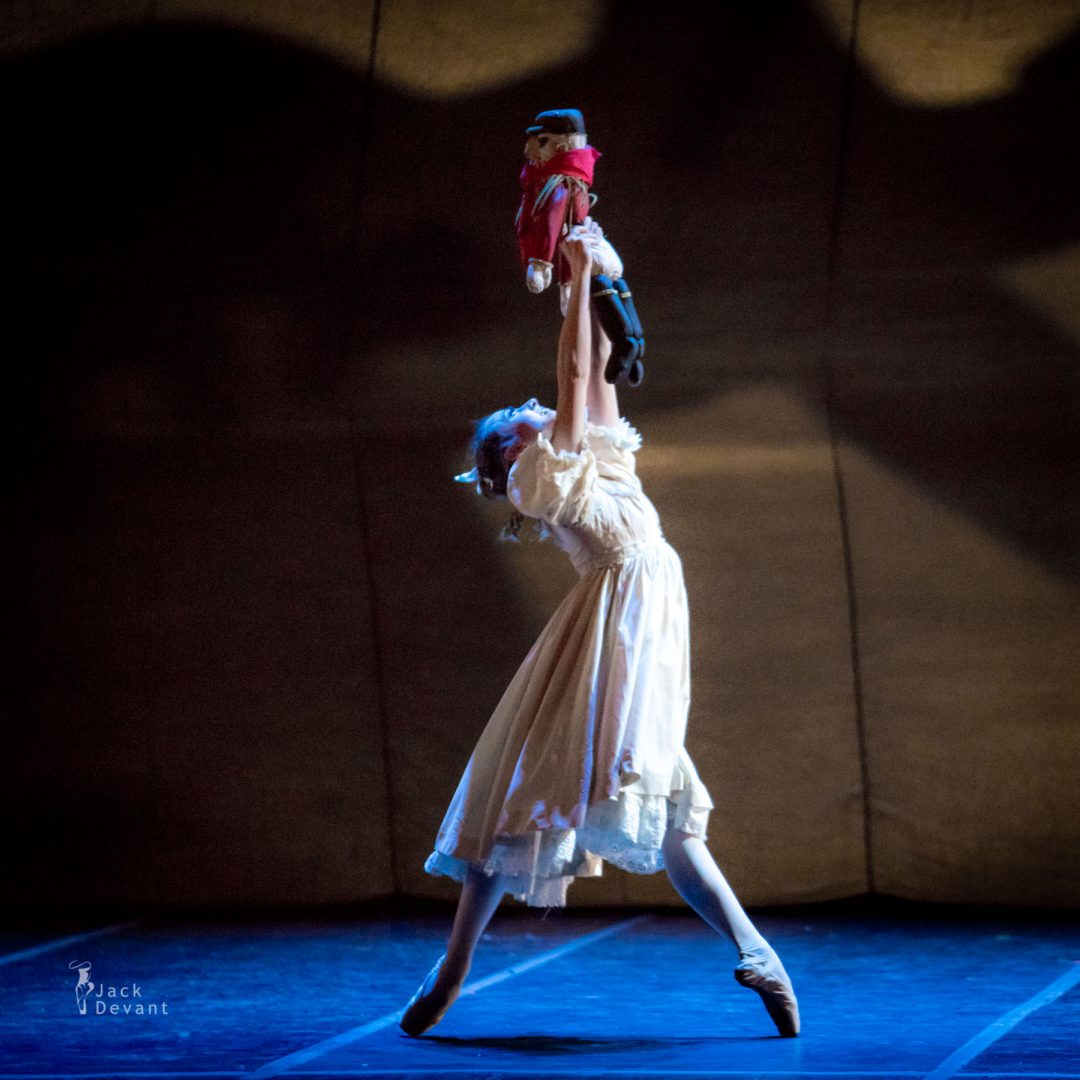 Giulia Neri as Clara Bambina The Nutcracker Lo Schiaccianoci