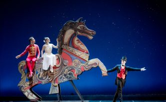 Ashley Bouder and Andrew Veyette in The Nutcracker (Schiaccianoci)