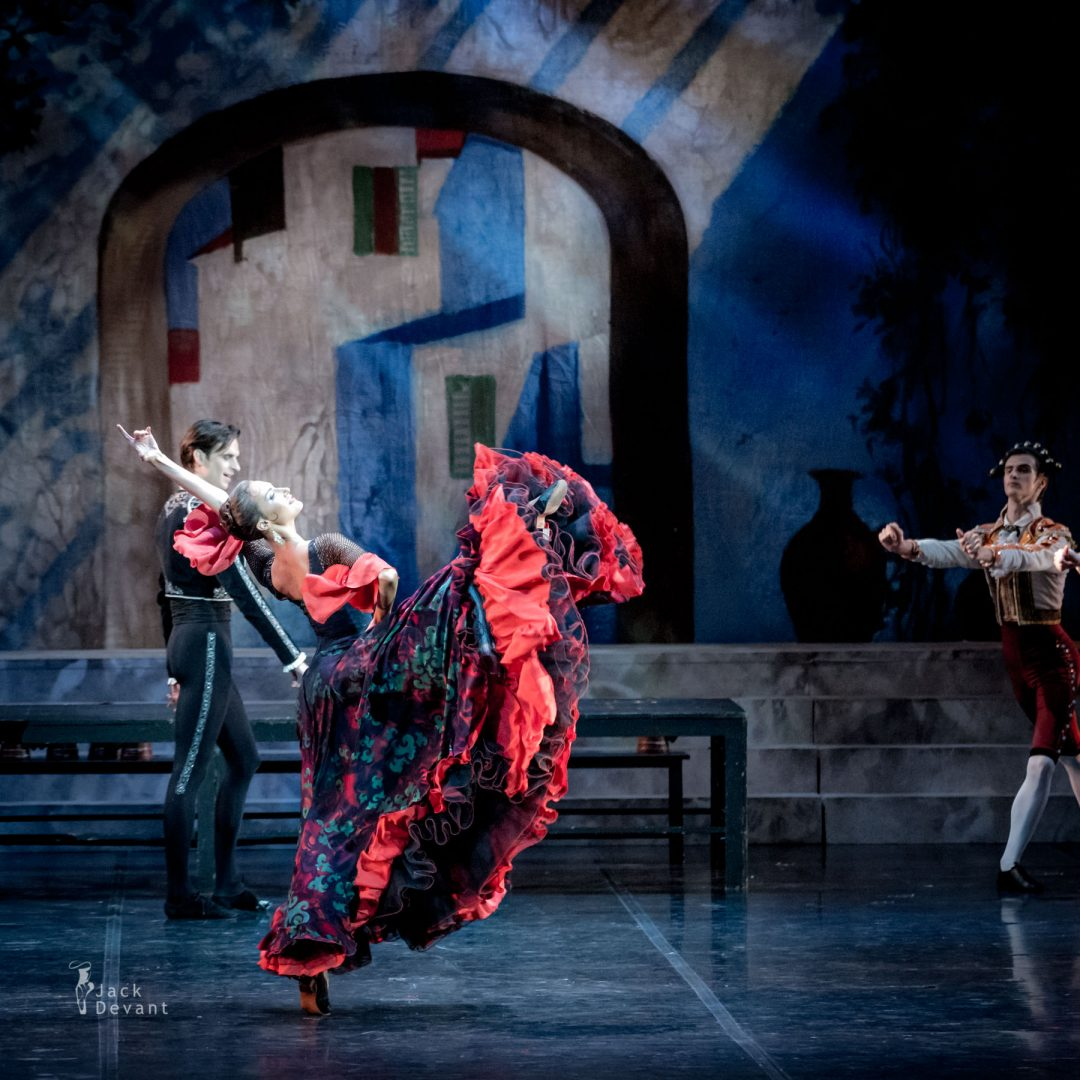 Polina Zayarnaya (Rus. Полина Заярная) in Mercedes variation. Don Quixote