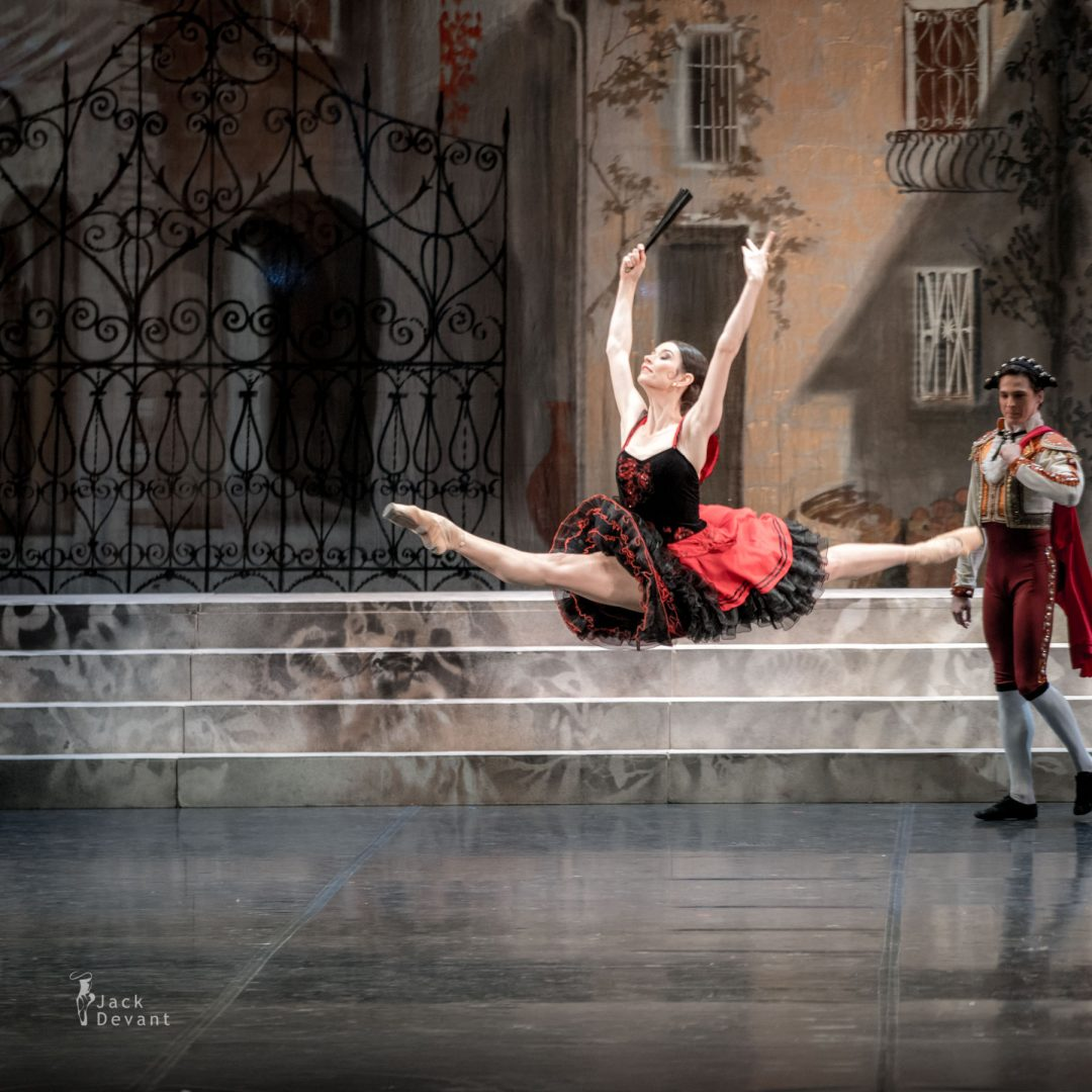 Valeria Mukhanova as a Street Dancer Don Quixote grand jete