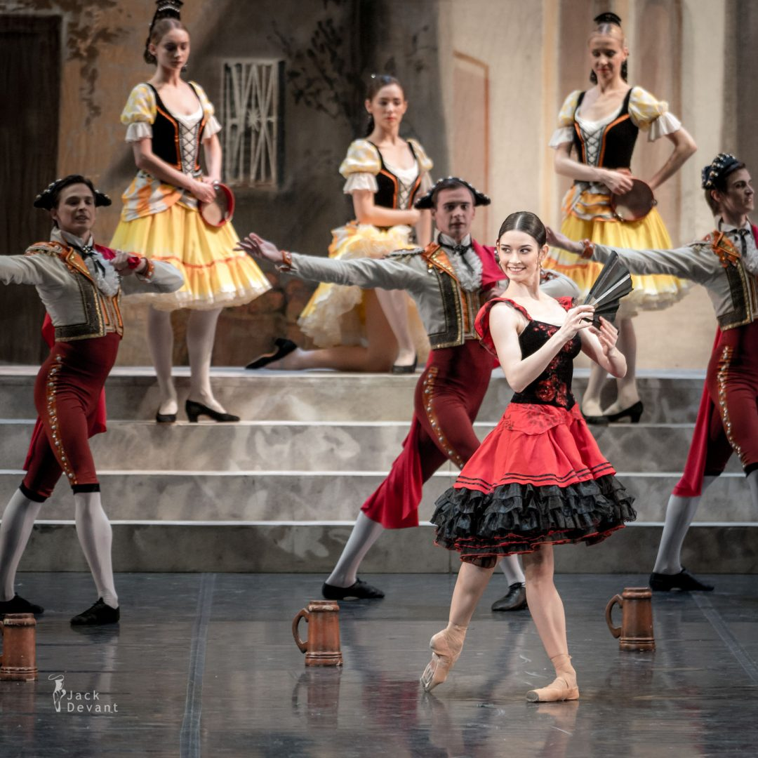 Valeria Mukhanova as a Street Dancer Don Quixote