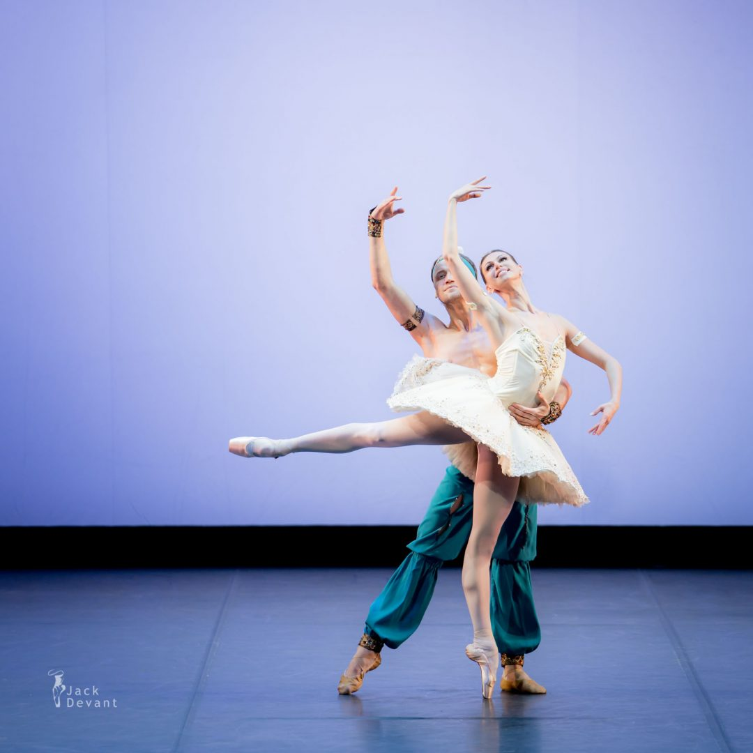 Anastasia Matvienko and Denis Matvienko in Le Corsaire 1